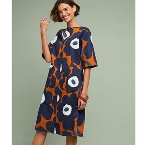 NWT Anthropologie Marimekko shift Dress